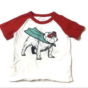 Carters dog short sleeve tee